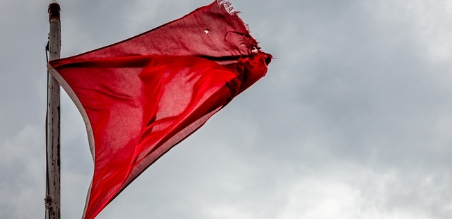 Red flag on a windy day - Signs You Need to Automate Your Payroll Process
