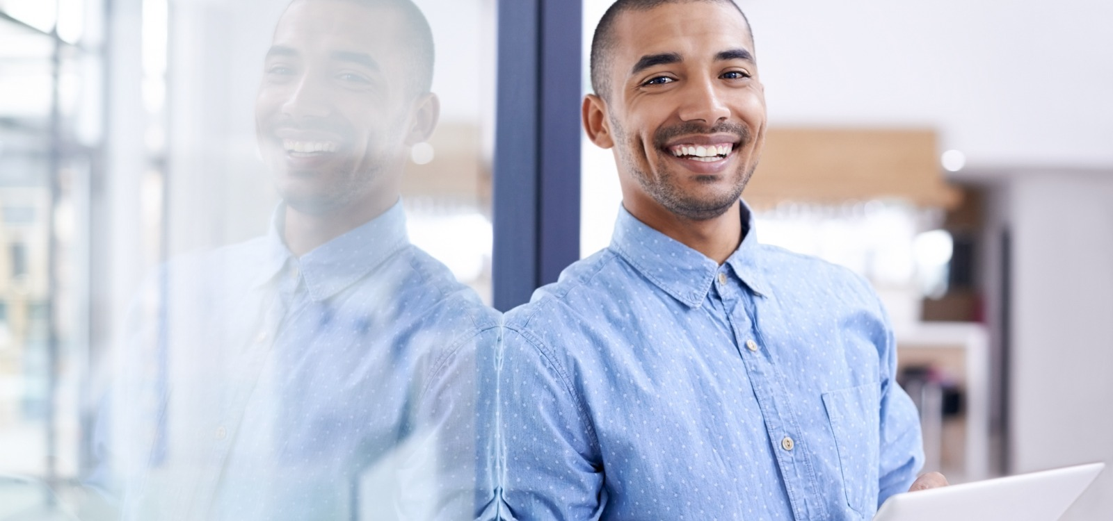 smiling businessman | business of experience